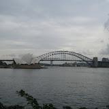 Sydney Harbor -  Opera House -  Harbor Bridge