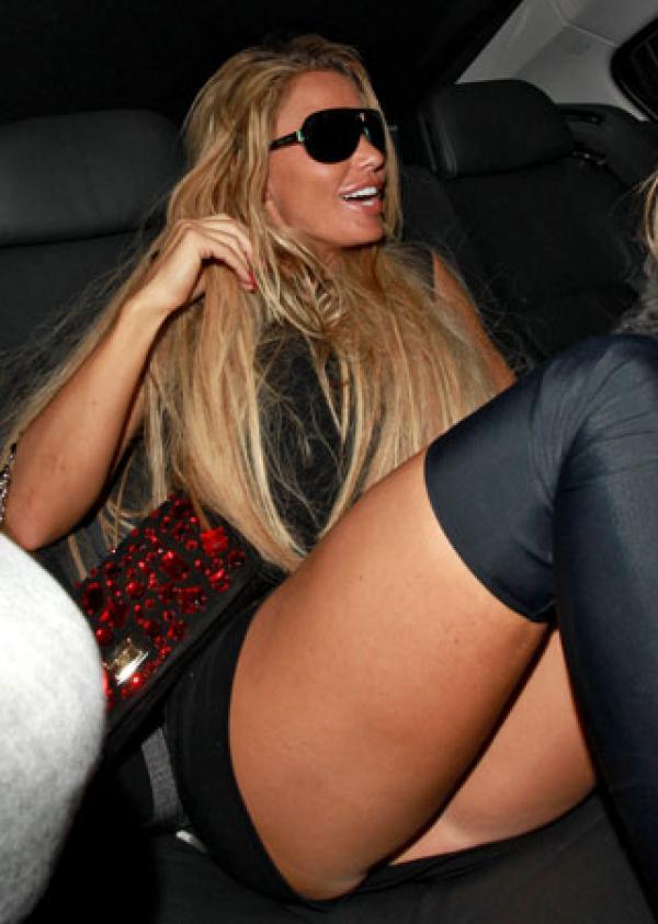 image Bajo falda calzon negro con dorado