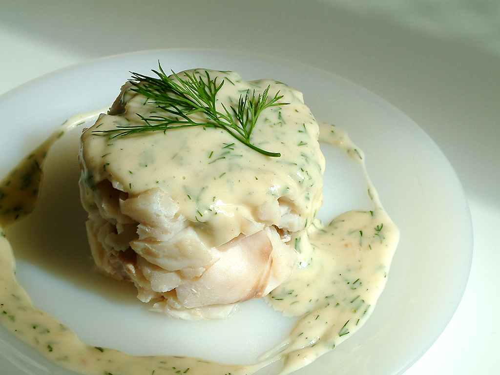 dill sauce for poached fish