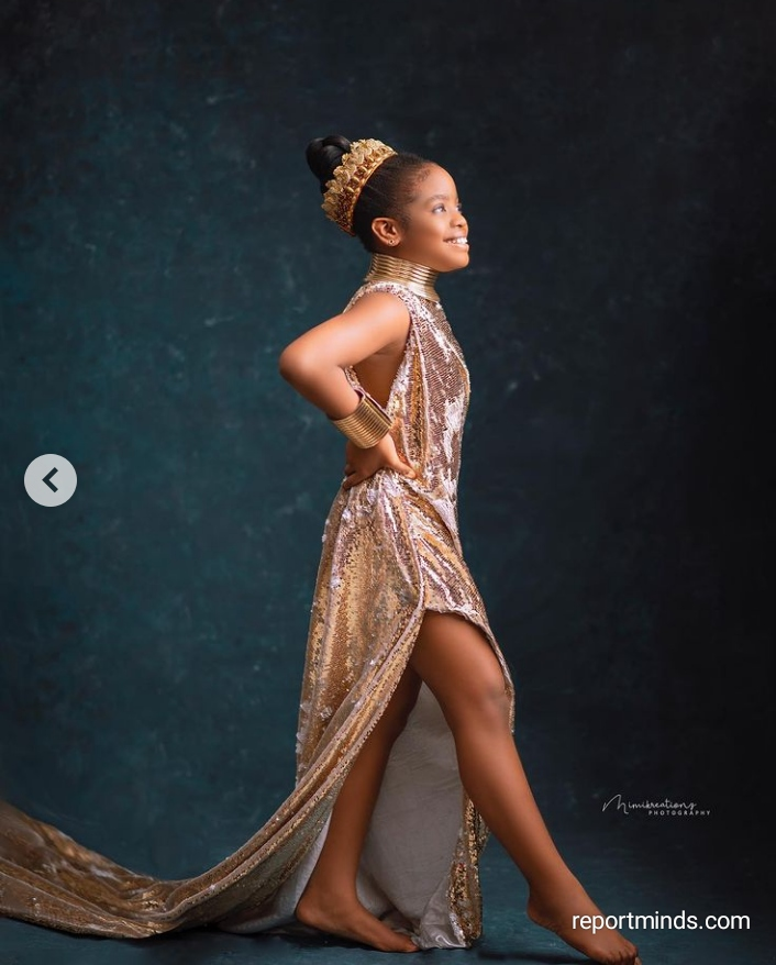 Comedian Basketmouth shares grown up pictures of his daughter, Janelle on her 10th birthday