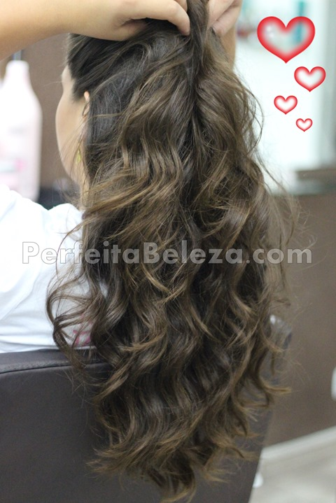 cabelo natural comprido