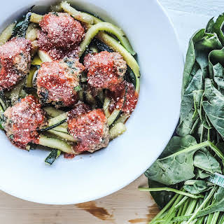 Easy Turkey Spinach Meatballs.