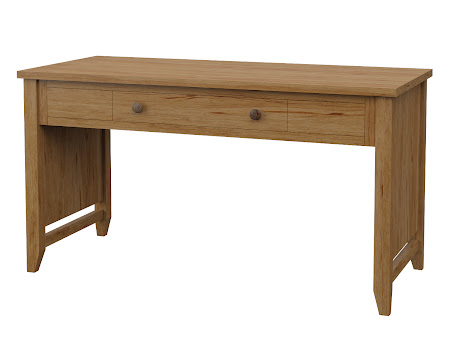Venice Writing Desk in Classical Maple