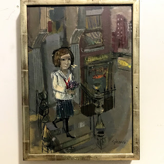 Ruth Gikow Signed Painting