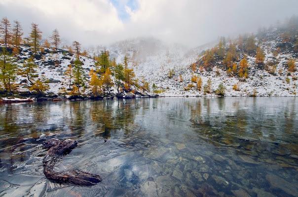 Il lago alpino  di Il-tafano
