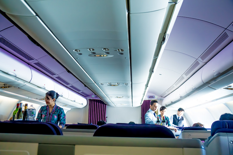 Malaysia airline, in-flight 2