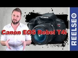 Best Budget DSLR for Video? Canon EOS Rebel T4i (650D) DSLR Product ...