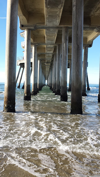 ทะเลในยามหนาว เดินออกกำลังกาย