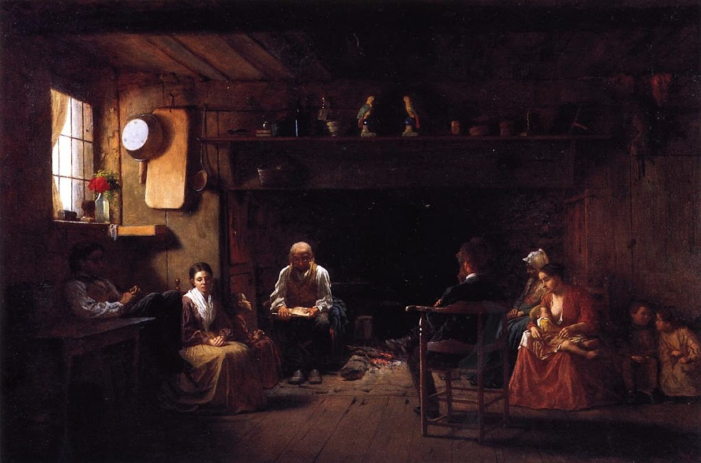 Eastman Johnson - Sunday Morning
