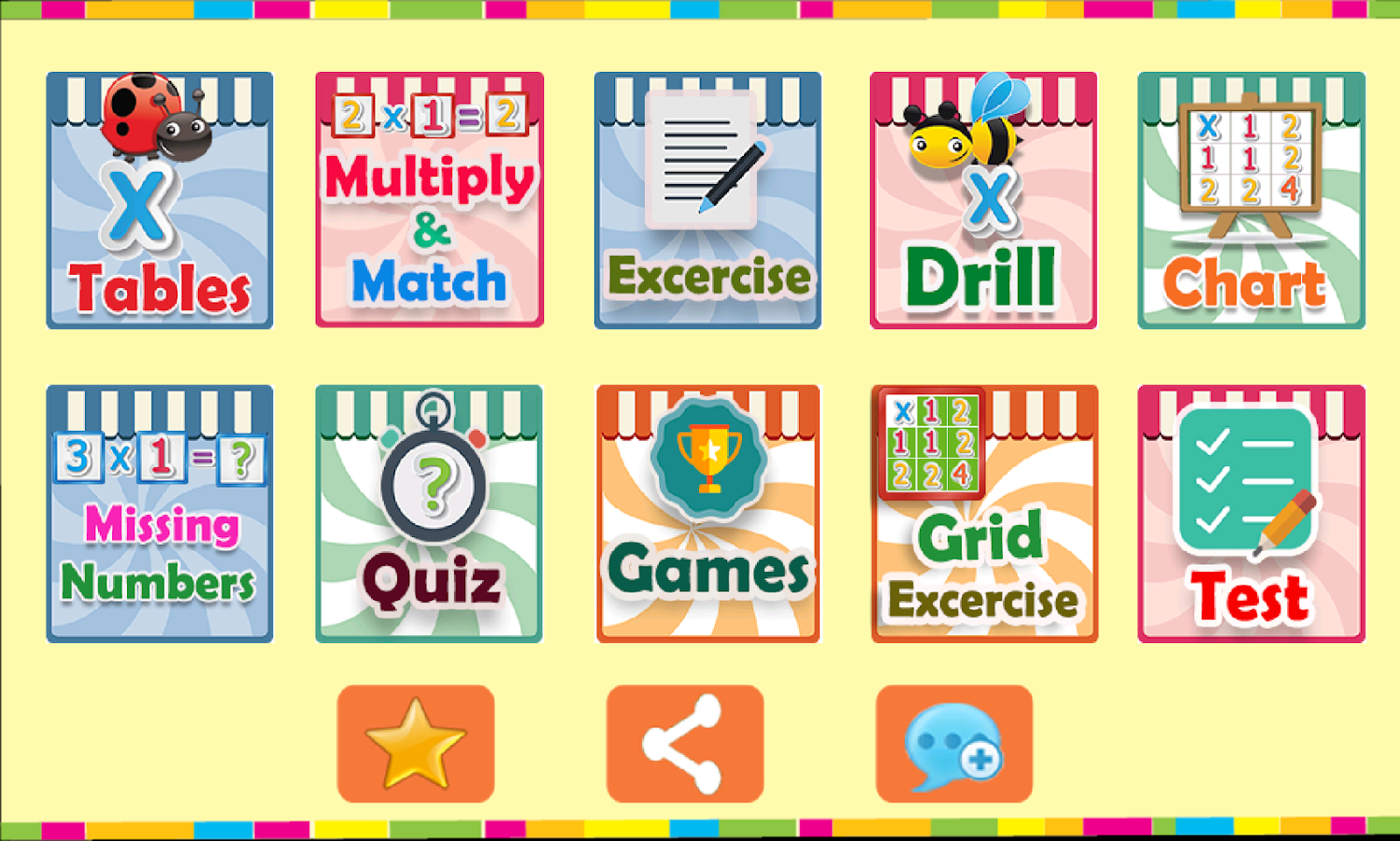 All worksheets multiplication table to print pics free all worksheets multiplication table to print pics kids multiplication tables android apps on google nvjuhfo Images