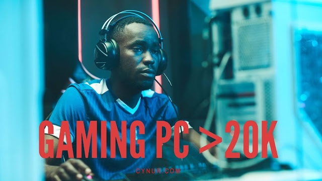 Gaming PC build under 20000