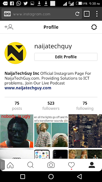 You Can Now Access Instagram From Your Mobile Browser And Also Upload Pictures 4