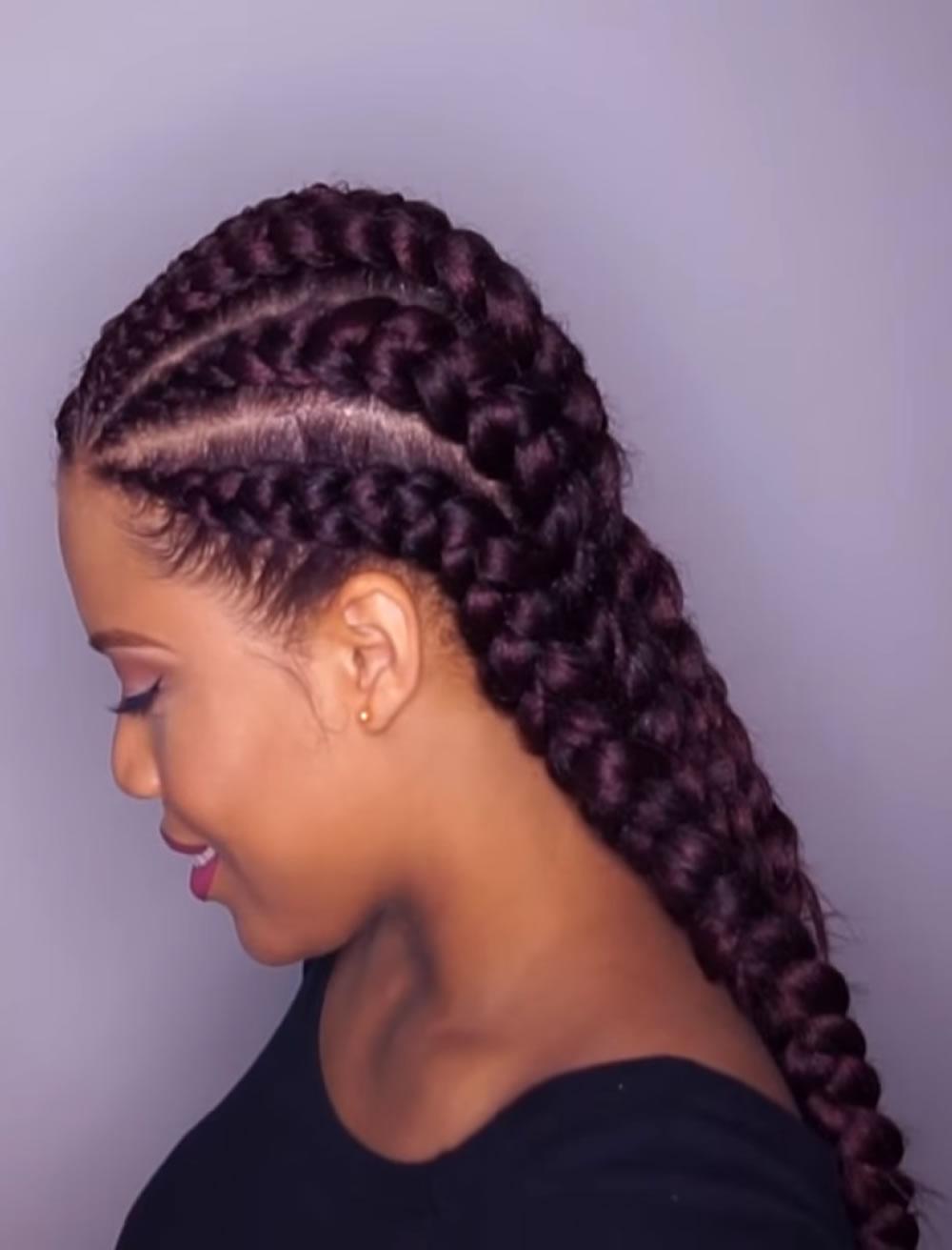 2019 Ghana braids hairstyles