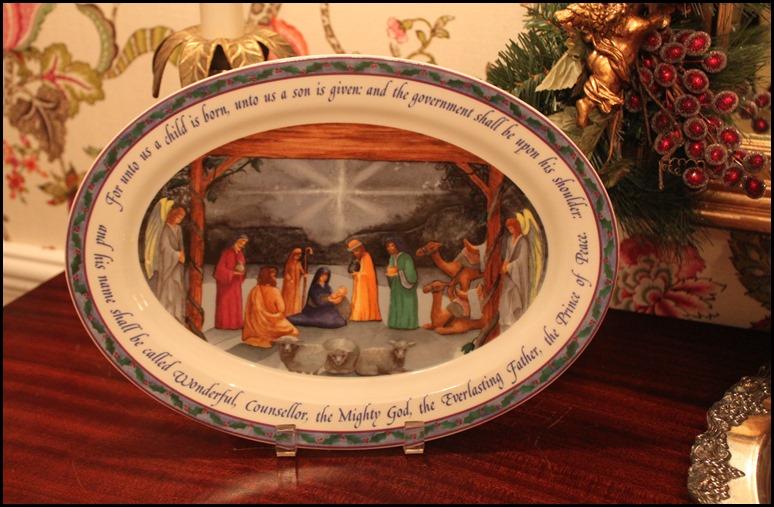 Bethlehem Christmas Platter