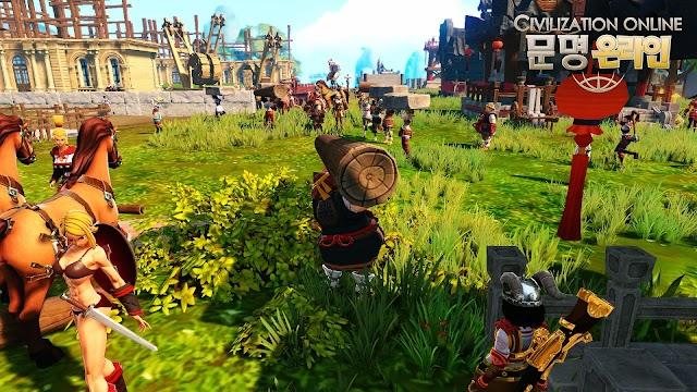 Cận cảnh gameplay của Civilization Online 9