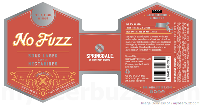 Image result for springdale no fuzz sour ale
