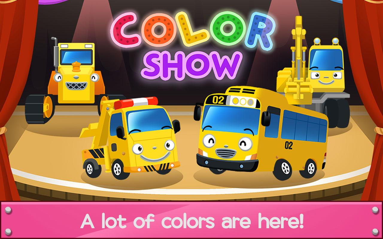 Game for colors - Tayo Color Game Screenshot