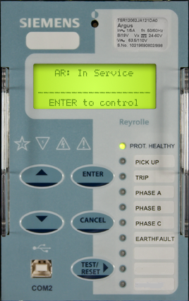 Reyrolle Argus 7SR1 - Autoreclose posisi In-Service