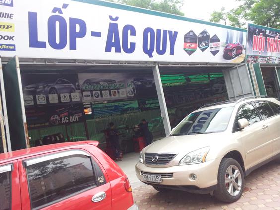 Dịch vụ chăm sóc lốp ô tô