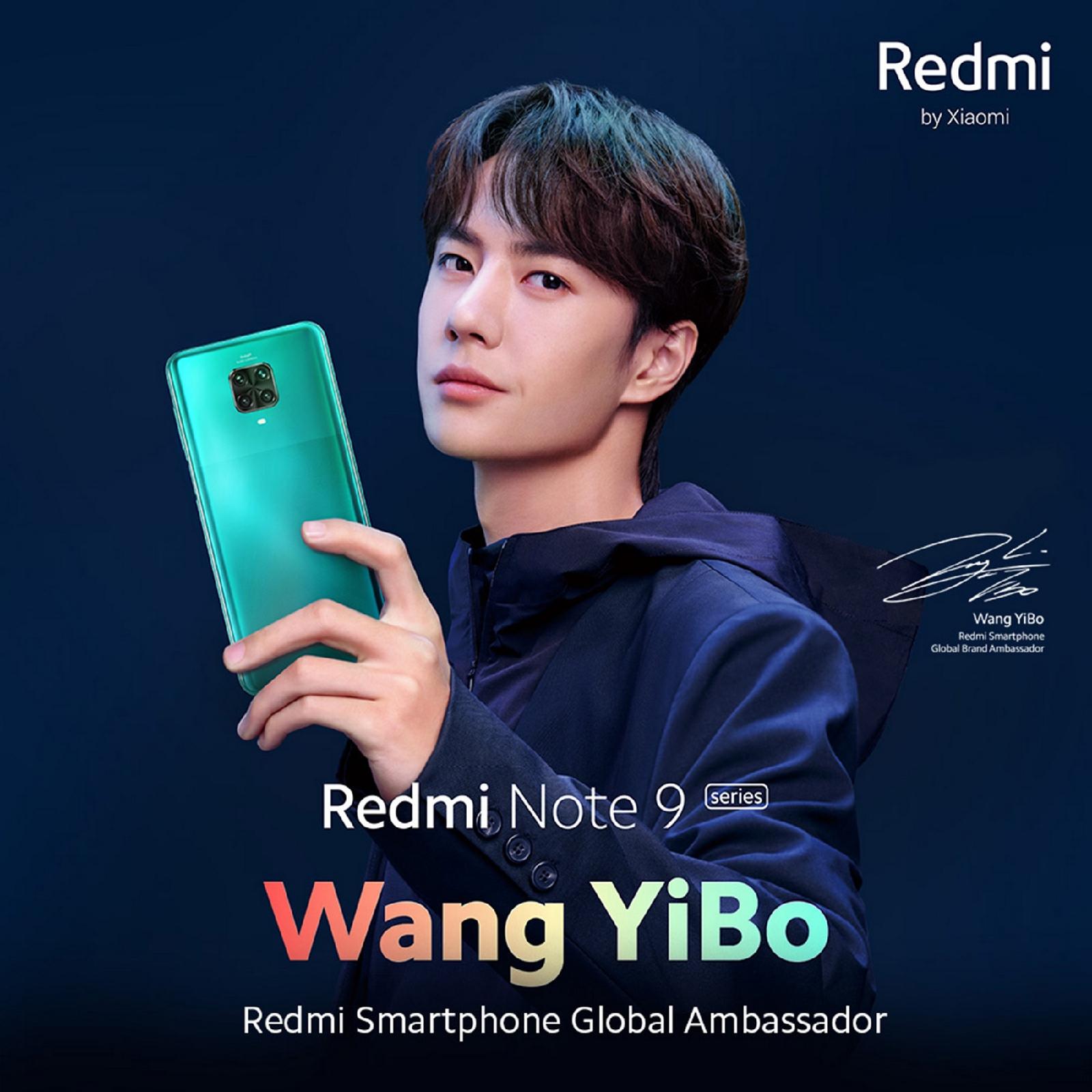 """สมการรอคอยและไม่ต้องลุ้นอีกต่อไป! วันนี้เสียวหมี่ ประกาศเปิดตัว """"หวัง อี้ป๋อ"""" ไอดอลชาวจีน ในฐานะ Global Brand Ambassador ของสมาร์ทโฟน""""Redmi Smartphone"""""""