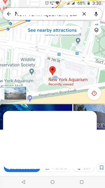 Access Google Maps Street View on Smartphone