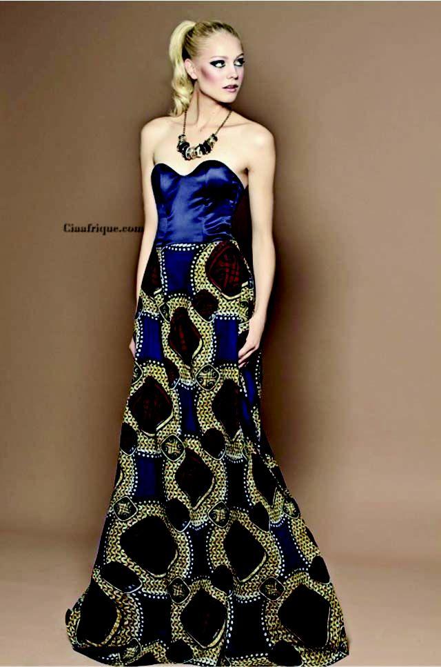 Kitenge Dresses Designs For Young Girls 4