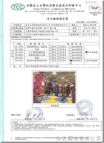 CNS 12643 安全驗證報告書