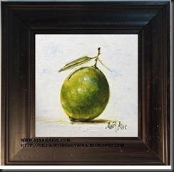 Lime framed green 6x6