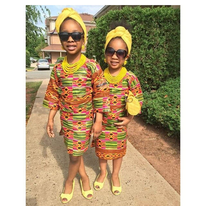 Lovely Pictures of Ankara designs for a child (3)