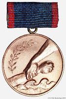 137 Bekämpfung Hochwasser medailles