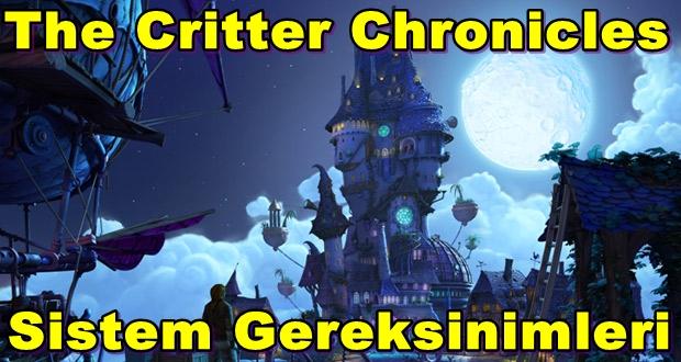 The Critter Chronicles PC Sistem Gereksinimleri