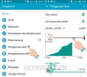 perlu dilakukan terutama bagi kau yang sering jauh dari jalan masuk wifi 10 Cara Jitu Menghemat Kuota Data Internet Android