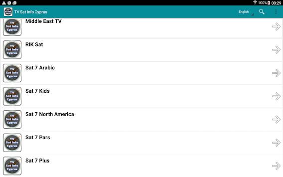 Download TV Sat Info Cyprus APK latest version app for