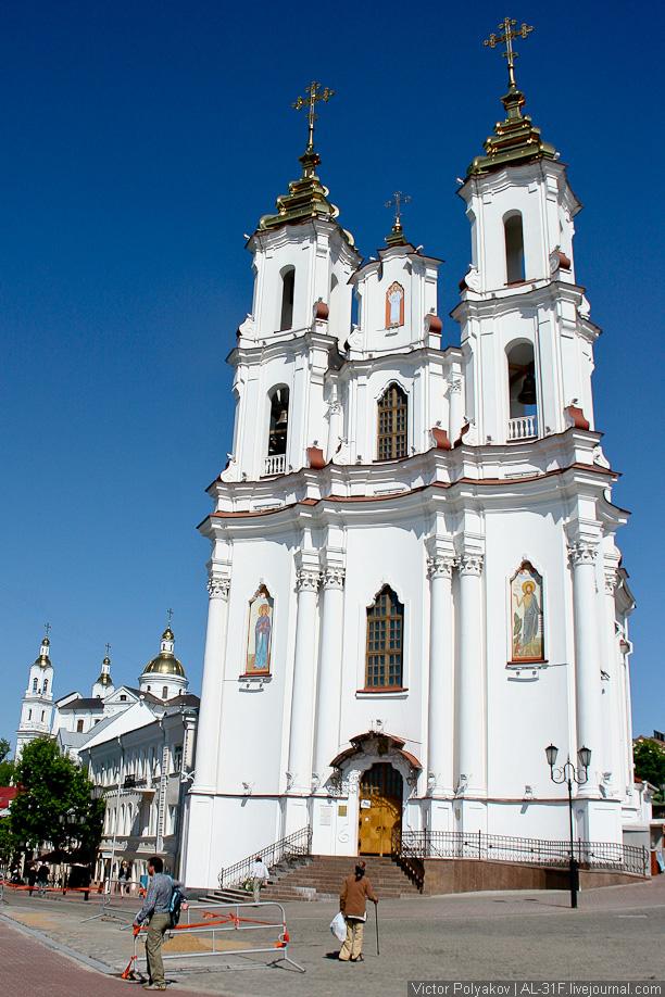 Витебск. Воскресенская церковь