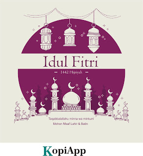 Desain Selamat Idul Fitri