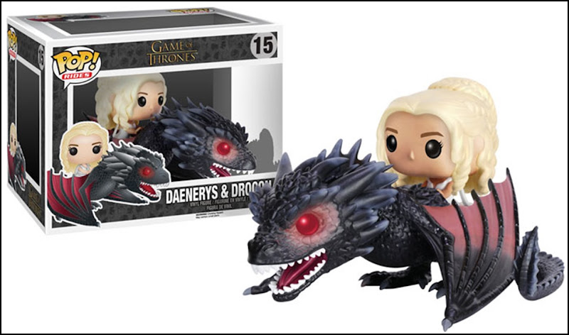 Game of Thrones Pop Series 6 Dany Riding Drogon
