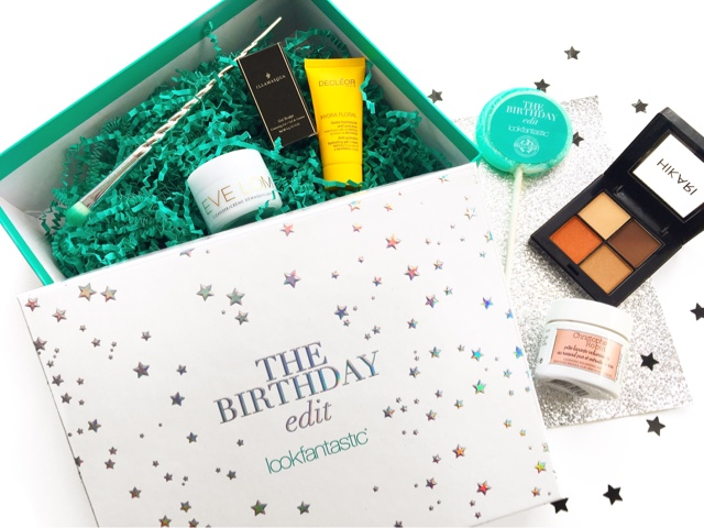 look fantastic beauty box review, look fantastic september the birthday edit review
