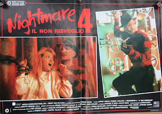 Italian Lobby card Nightmare 4 4 of 6  26x19 #1