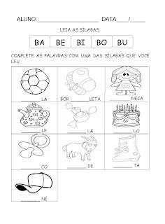 atividade+letra+b Atividades com a Letra B educaçao para crianças imprimir