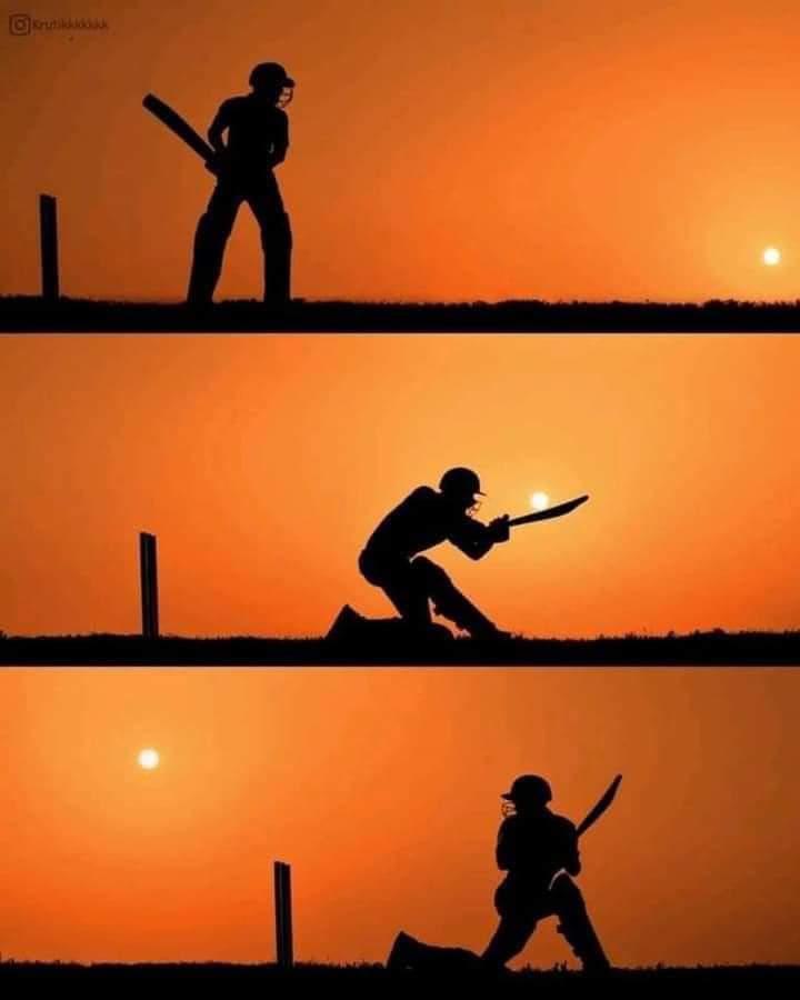 Foto Indah Sunset Keren Gambar Matahari Terbenam Unik Main Cricket