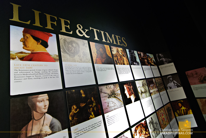 Da Vinci's Life and Times at The Mind Museum