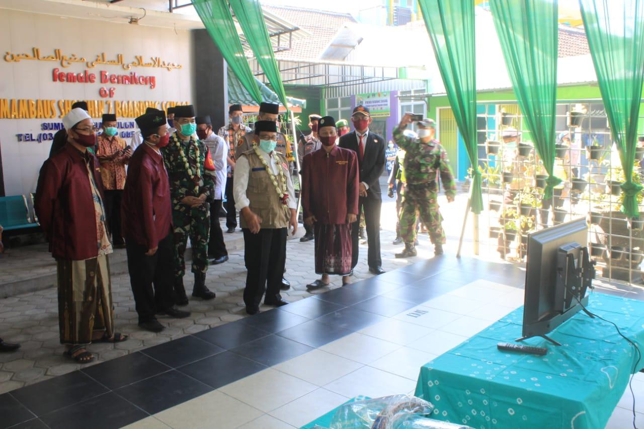 Launching Pondok Pesantren Mambaus Sholikin II Dihadiri Dandim Blitar, Ini Kata Letkol Inf.Kris Bianto, SE