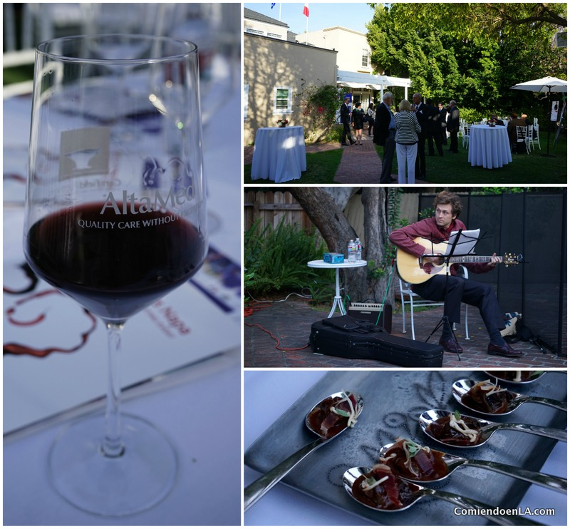 All proceeds from the wine tasting benefit AltaMed Health Services