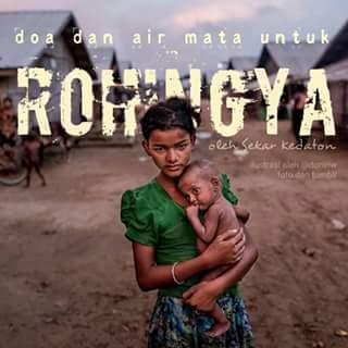 Derita Rohingya Derita Kita