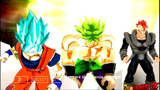 DOWNLOAD!! NOVO (MOD) V2 DRAGON BALL TENKAICHI TAG TEAM PARA CELULARES ANDROID DBZ TTT