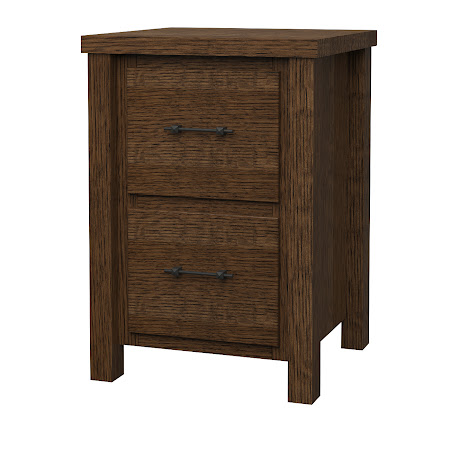 Ashton File Cabinet in Hayes Quarter Sawn Oak