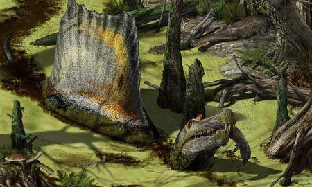 水辺での最強恐竜