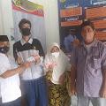 PT Pos Indonesia Bersama Pemdes Bojong Baru Salurkan BST Sebanyak 798