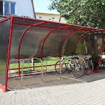 Zadaszony parking rowerowy
