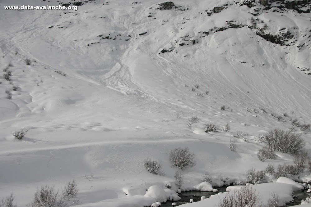 Avalanche Haute Maurienne, secteur Pointe de Méan Martin, Buffettes - Photo 1